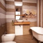 """Колоритна колекция плочки за баня """"Виола"""" от Ceramica Fiore."""