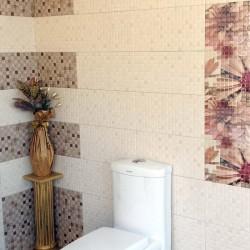 Плочки за баня/ Колекция Mosaico от FANAL/ Баня с плочки в свежи цветове и цветя