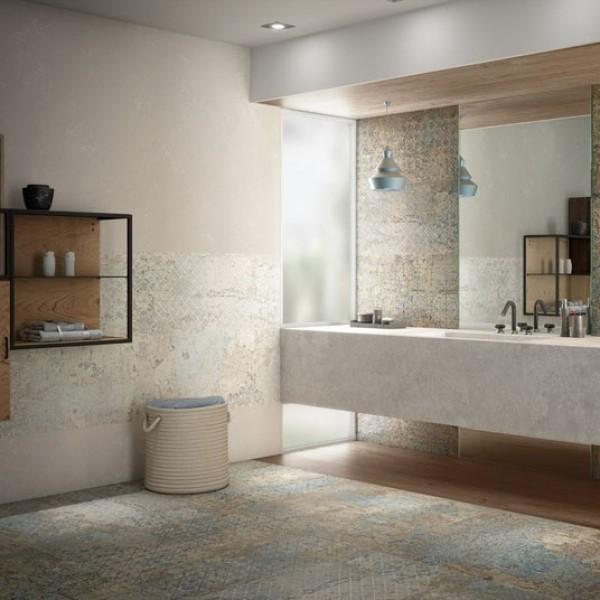 Колекция испански плочки фаянс и гранитогрес за баня CARPET