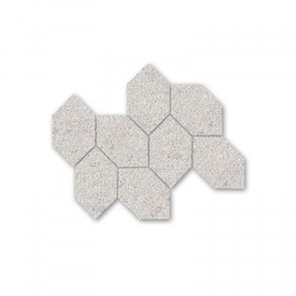 Хексагонови форми в плочка Мalla Fabric Arena - пясъчен цвят