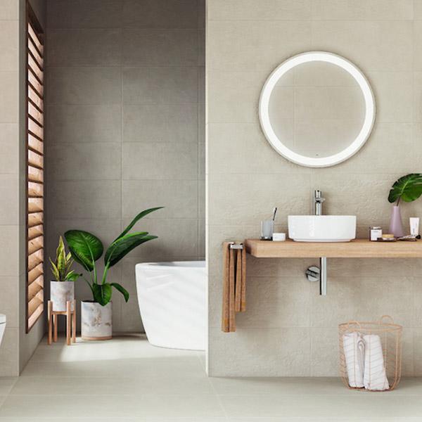 Plaster-Melt – колекция гранитогресни плочки за баня от Испания