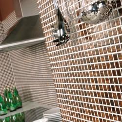 Плочки за кухня мозайка Gema maron от Sanchis