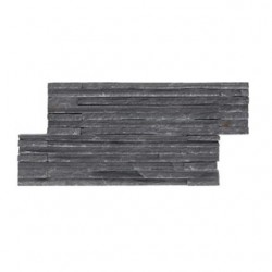 Естествени Плочки Zeta Catarata Black от камък
