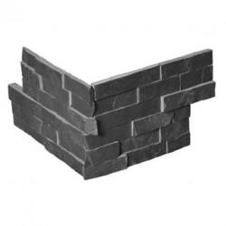 Естествени Плочки Laja Corner Black от камък