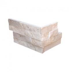 Естествени Плочки Laja Corner Travertine от камък