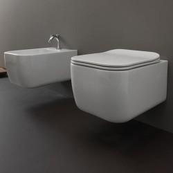 Стенна тоалетна чиния - тоалетно тяло с масивен дизайн