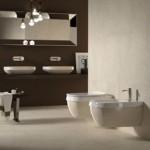 Бежово стенно биде италиански дизайн – Abito Pietra Di Noto 56