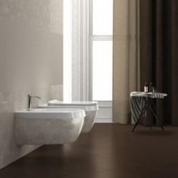 Стенна тоалетна чиния италиански дизайн – Abito Decoro Rice 56