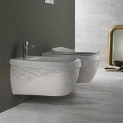 Стенно биде декор ивици италиански дизайн – Abito Righe Oro 56