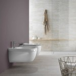 Окачена тоалетна чиния италиански дизайн – Abito Incrocio Bianco 56