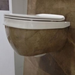 Конзолна тоалетна ефект бронз – Abito Bronzo Amani 56