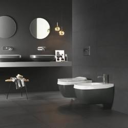 Окачена тоалетна чиния тъмно зелена – Abito Night Green 56
