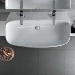 Стенна мивка за баня италиански дизайн – Abito 100