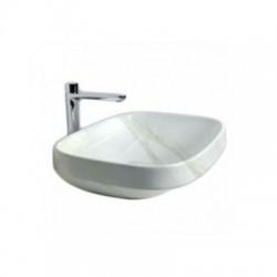 Мивка за баня за плот ефект мрамор – Abito Calacatta
