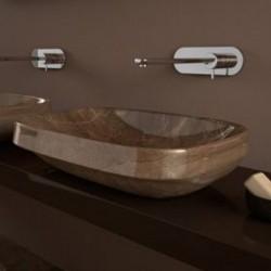 Мивка за баня за плот лукс ефект – Abito Bronzo Amani