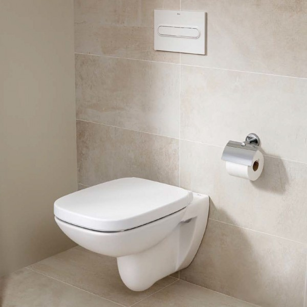 Стенна тоалетна чиния Debba Rimless квадратен дизайн