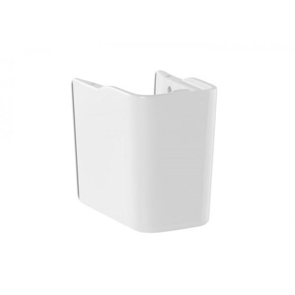 Бяла полуконзола за мивка - порцелан/ Колекция The Gap