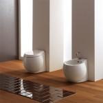 Бяла тоалетна чиния - стояща 8401/ Колекция Planet