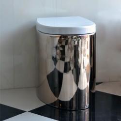 Tоалетна чиния - стояща 8401 - платина или бяла / Колекция Zefiro