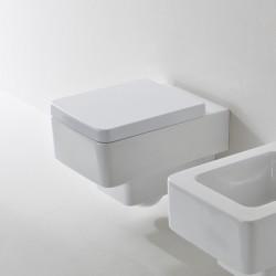 Бяла тоалетна чиния за стена 8701 / Колекция Teorema