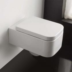 Бяла тоалетна чиния за стена 8301/ Колекция Next