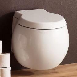 Бяла тоалетна чиния за стена 8105 / КолекцияPlanet