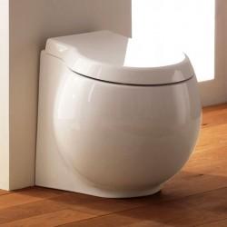 Бяла тоалетна чиния  8402 с долно оттичане/ Колекция Planet