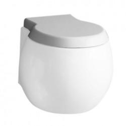 Бяла седалка за тоалетна чиния 8108B - softclose/ Колекция Planet