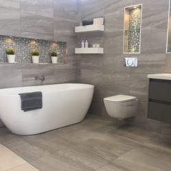 Как да изчислим плочки за баня