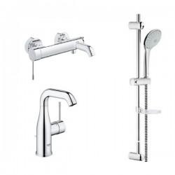 Душ система и смесител за мивка комплект на промо цена – Essence