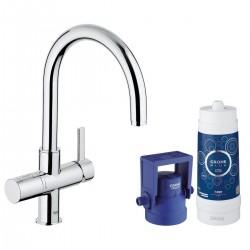 Смесител за мивка в кухня с филтър – GROHE Blue Pure