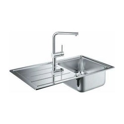 Комплект мивка за кухня и смесител K400 модул Minta