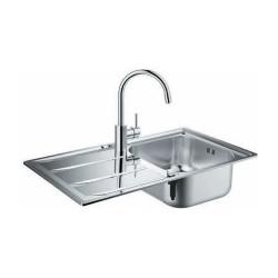 Комплект мивка за кухня и смесител K400 модул Concetto