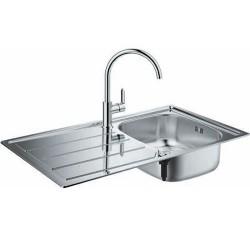 Комплект мивка за кухня и смесител K200 модул BauEdge