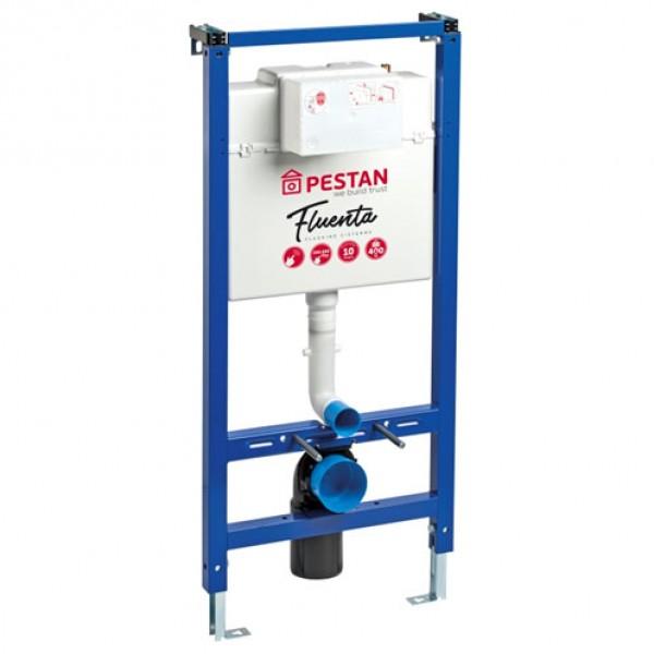 Структура за вграждане – Pestan Fluenta с бял бутон активатор