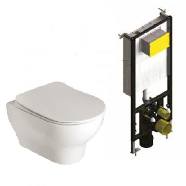 WC Структура за вграждане T05-2113 с окачена тоалетна EOLIS