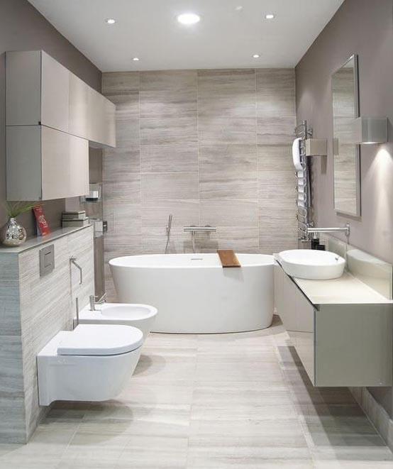 for Badezimmergestaltung modern